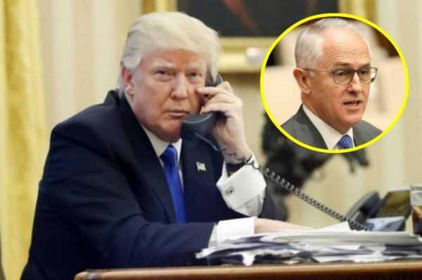 Após bate-boca, Trump desliga ligação com premier da Austrália / Divulgação