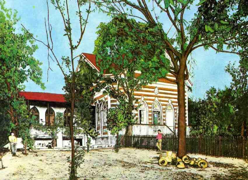 Chácara de Eduardo Ribeiro, local onde hoje funciona o Hospital Psiquiátrico Eduardo Ribeiro