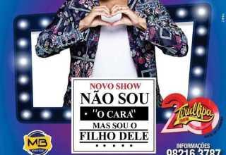 """Tirullipa estreia espetáculo """" Não sou o Cara, mas sou o filho dele"""" em Manaus / Divulgação"""