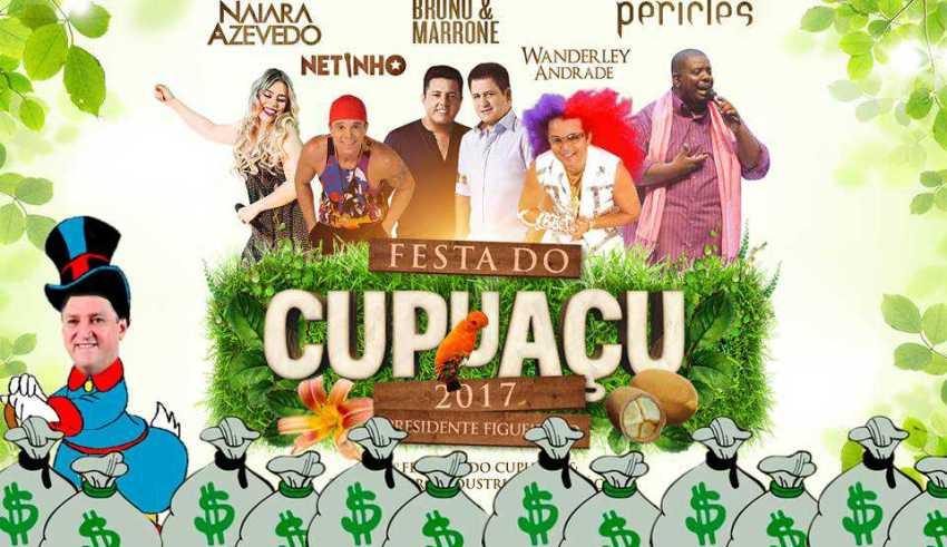 Em Presidente Figueiredo não tem crise: Conheça alguns números da milionária Festa do Cupuaçu