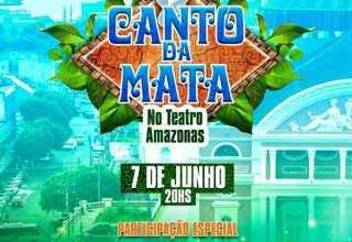 Banda 'Canto da Mata' gravará DVD no Teatro Amazonas