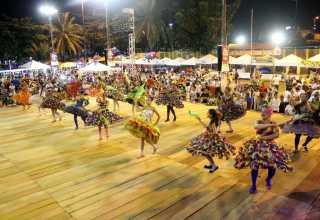 MANAUS/AM - O 35º Festival Folclórico do Parque Dez / FOTO: MARIO OLIVEIRA / SEMCOM em 03/08/2015