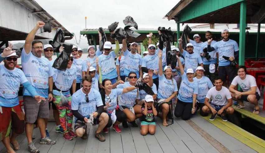 Grito D'Água 4.0 promove ação de limpeza no Tarumã / Foto: Divulgação