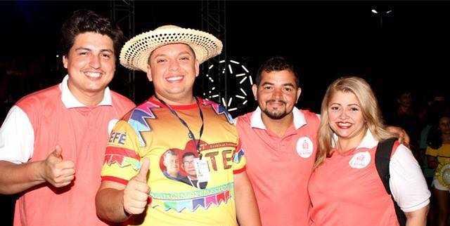 Secretário Municipal de Turismo, Comércio e Indústria, Christophan Mota e a equipe do No Amazonas é Assim / Divulgação