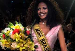 Monalysa Alcântara, do Piauí, vence concurso e é eleita Miss Brasil 2017 - Imagem: Ana Ceribelli/BE Emotion
