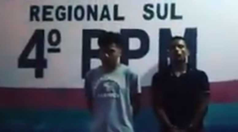 Bandidos aproveitam a confusão em Humaitá para roubar motosserras e são presos - Imagem: Reprodução