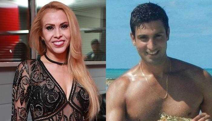Joelma e seu novo namorado Alessandro (Foto: Divulgação/Reprodução/Montagem)