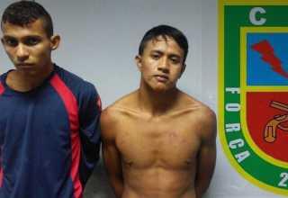 Força Tática prende bandidos durante arrastão na Av Torquato Tapajós em Manaus - Imagem: Divulgação