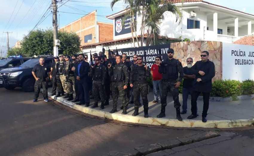 """Polícia civil deflagra operação """"Jaleco Preto"""" - Imagem: Divulgação"""