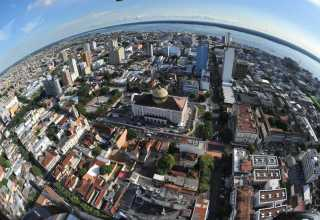Manaus vista aérea / Foto : Chico Batata