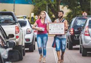 Fabiana Danguí, de 20 anos, e Rower Ferreira da Silva, de 25, moram na região de Curitiba / Divulgação