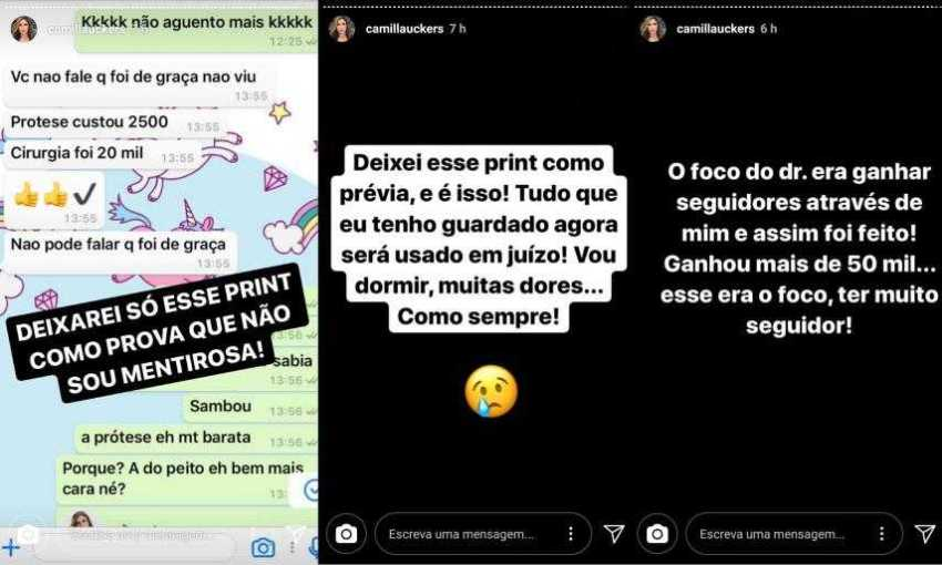Camilla Uckers / Reprodução Instagram