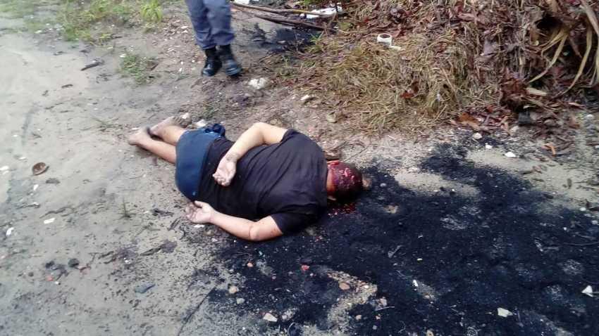 Detento é sequestrado e executado após desentendimento em Manaus - Imagem: Via Whatsapp