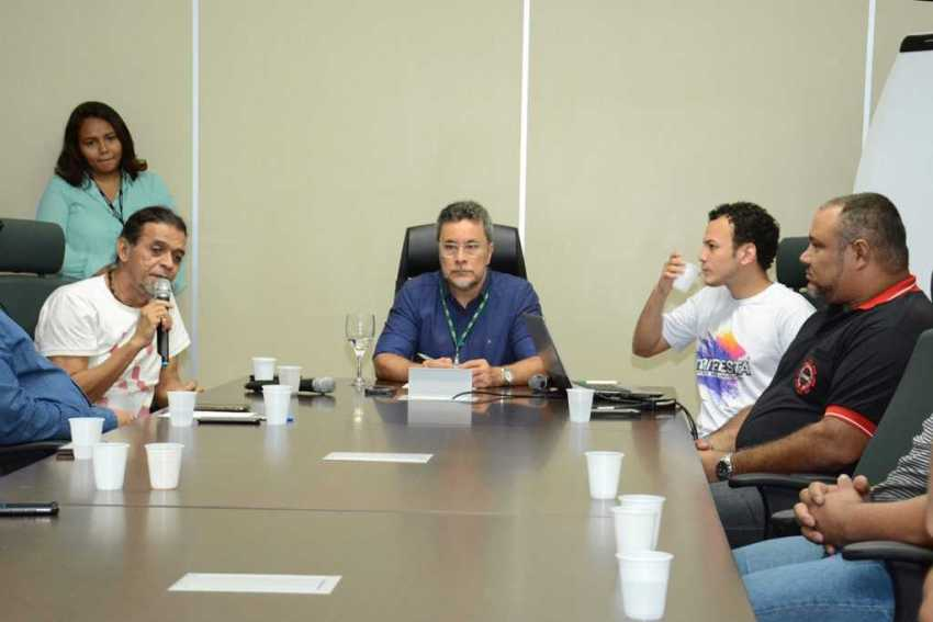 O lançamento do festival aconteceu na manhã da última terça-feira (23/1), na Reitoria da UEA. Foto: Joelma Sanmelo