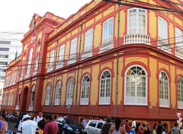 Biblioteca Pública de Amazonas / Foto : Cazadores de Bibliotecas