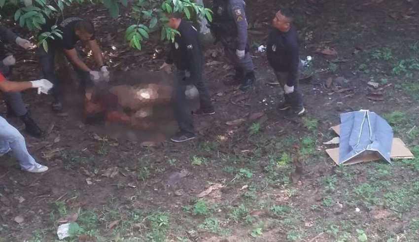 O corpo de Maria Irene Rodrigues de Souza, de 31 anos / Foto : Divulgação