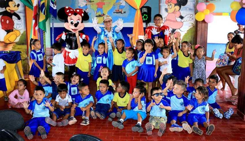 Educação: 12,6 mil alunos voltam às aulas em Maués / Foto : Divulgação