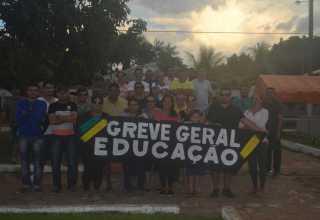 Pelo menos 80% das escolas da rede estadual estão sem aulas em todo o Amazonas - Imagem: Romario Vieira