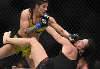 UFC 222: Ketlen Vieira bate a ícone do UFC Cat Zingano / Foto : Divulgação