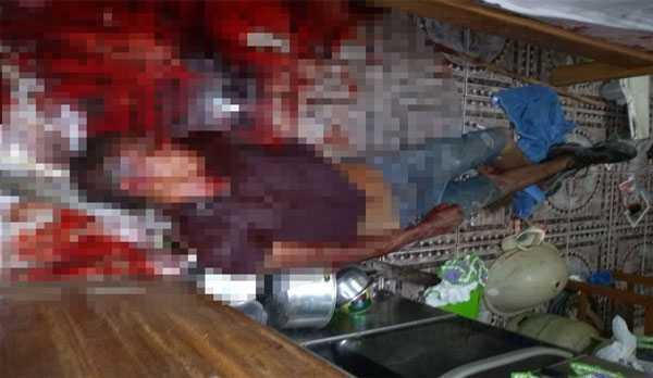 Suspeito de estuprar a menor / foto : Divulgação