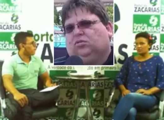 """Kamila chegou a falar ao """"PORTAL DO ZACARIAS"""". No destaque, o acusado de assédio sexual, Alexandre Lins / Foto : Reprodução"""
