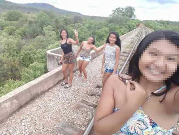 Três jovens caem de ponte no Piauí ao tirar selfie / Foto: Divulgação/PC-PI