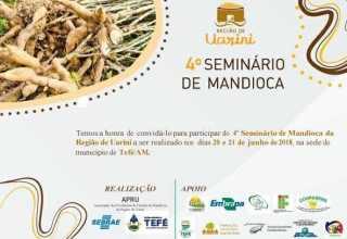 """""""4º Seminário de Mandioca"""", da região do Uarini, será realizado em Tefé"""