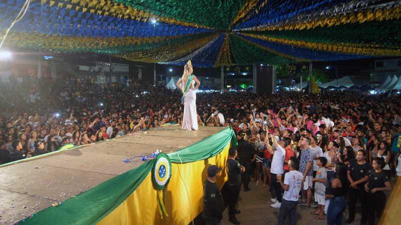 Jamine Barão,a Miss Tefé 2018 / Foto : No Amazonas é Assim