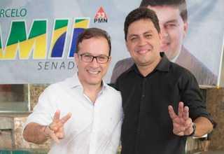 O vereador Chico Preto é pré-candidato ao Senado e Marcelo Amil disputará o Governo do Estado pelo PMN. / Foto: Divulgação