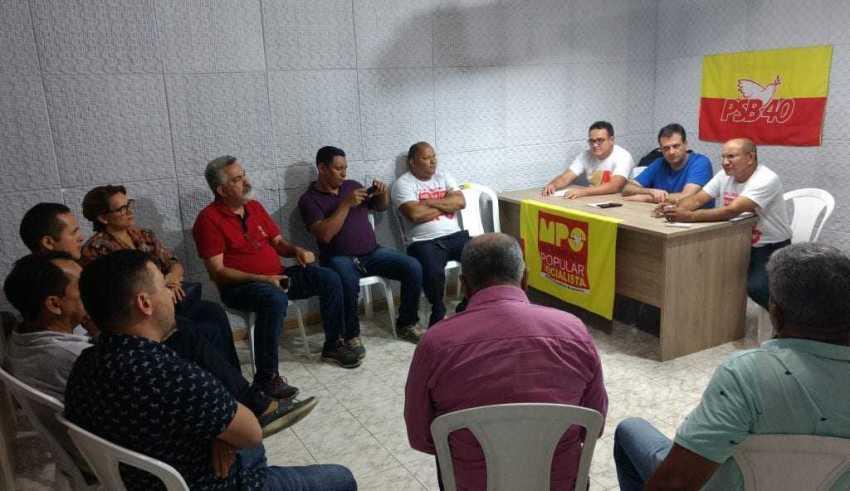 Membros do MPS-PSB se reúnem para planejar o Congresso Nacional Extraordinário e discutir sobre o Congresso Estadual no Amazonas