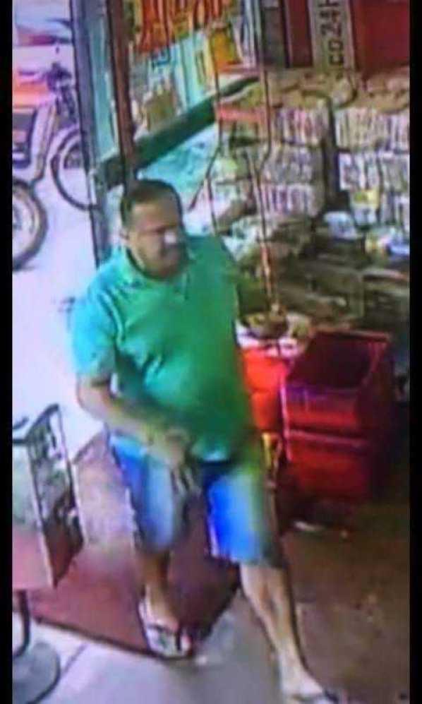 A Polícia busca informações sobre o suspeito e pede ajuda da população para localizá-lo.