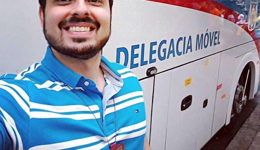 Delegado João Tayah / Foto : Reprodução