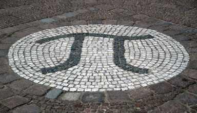 Mosaico na entrada do prédio da Matemática na Universidade Técnica de Berlim / Foto : Holger Motzkau