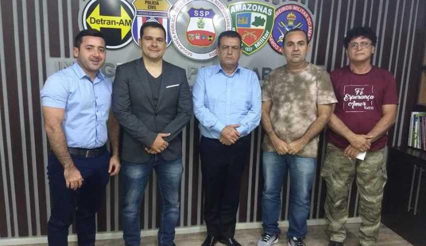 Cooperação Técnica entre a Polícia Militar e a Guarda municipal de Tefé / Foto : Divulgação