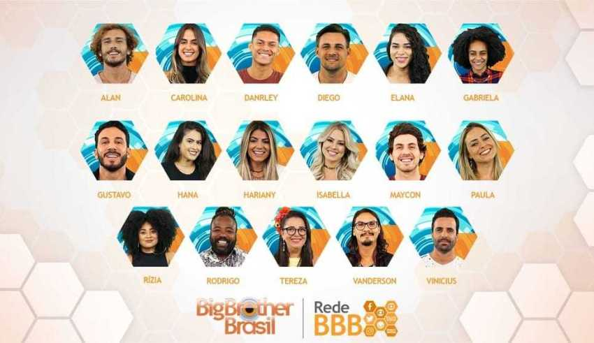 Participantes do BBB 19. Foto: Diuvulgação/Gshow