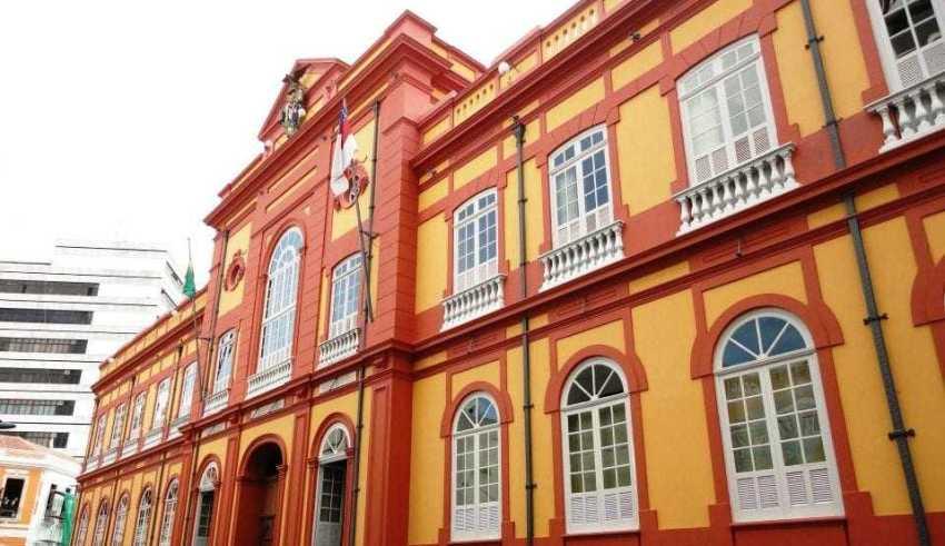 Biblioteca Publica do Amazonas. / Foto: Alexandre Alcântara