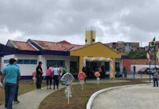 A solenidade foi marcada pela inauguração da Creche Municipal Professor Elias Lima de Souza, localizada no bairro Zumbi dos Palmares. / Foto: Divulgação