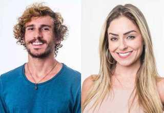Alan e Paula estão na disputa pelo prêmio de R$ 1,5 milhão na final do BBB 2019 (Imagem: Divulgação/ TV Globo)