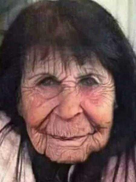 Gretchen envelhecida no Faceapp
