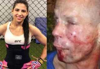 Homem que apanhou ao tentar assaltar lutadora de UFC é condenado