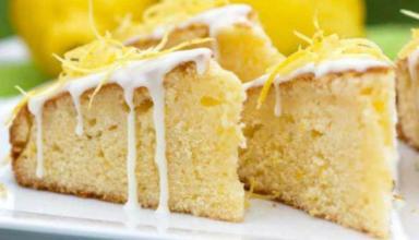 Aprenda a fazer um delicioso bolo de limão sem lactose bem macio