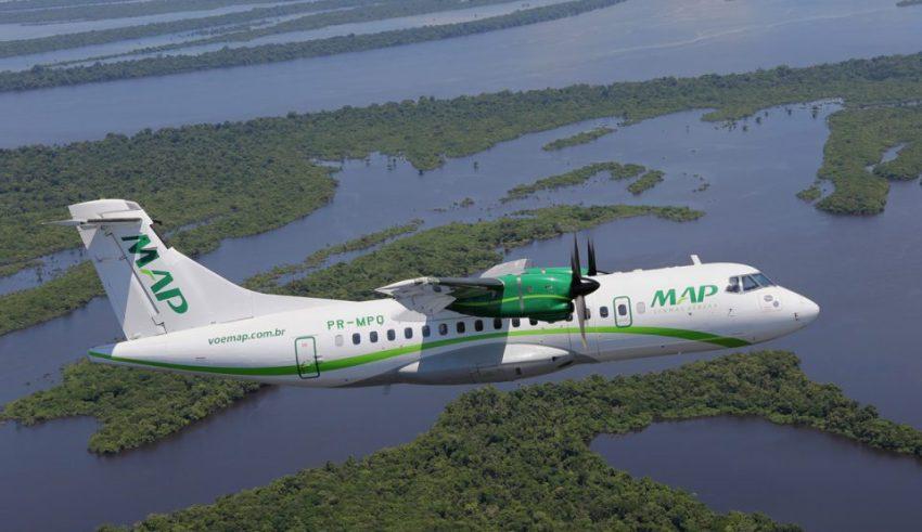 A MAP Linhas Aéreas suspendeu seus voos para três municípios do Estado (Foto: Divulgação)