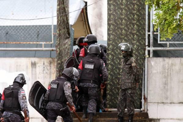 Confronto com a polícia deixa vários traficantes mortos em Manaus / Foto : Divulgação