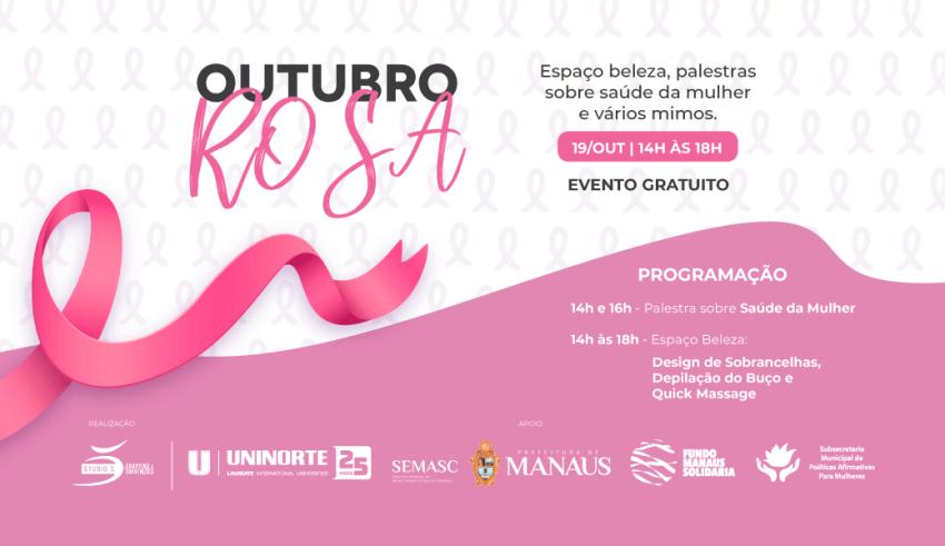 Studio 5 promove ação em apoio a campanha Outubro Rosa com serviços gratuitos
