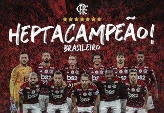 CR Flamengo conquista 2 títulos em menos de 24 horas. Agora é hepta campeão brasileiro!