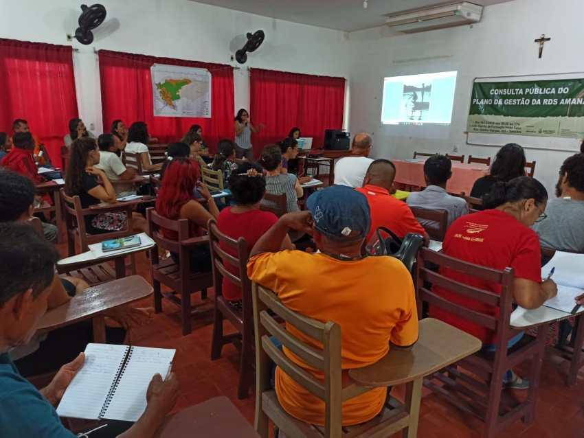 Consulta Pública Gestão RDS Amanã / Foto : Divulgação / SEMA