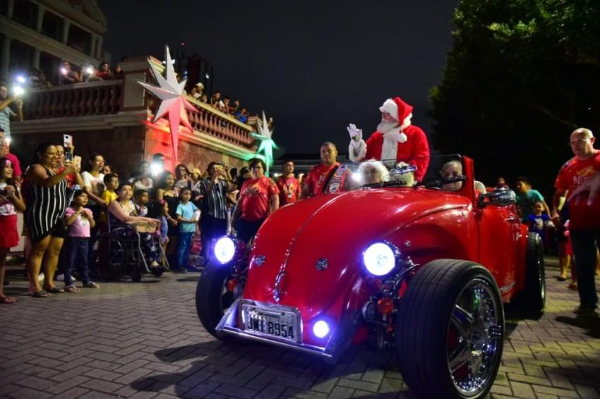 programação natalina no Largo de São Sebastião / Foto : Divulgação