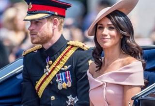 Prince Harry e Meghan / Foto : Divulgação