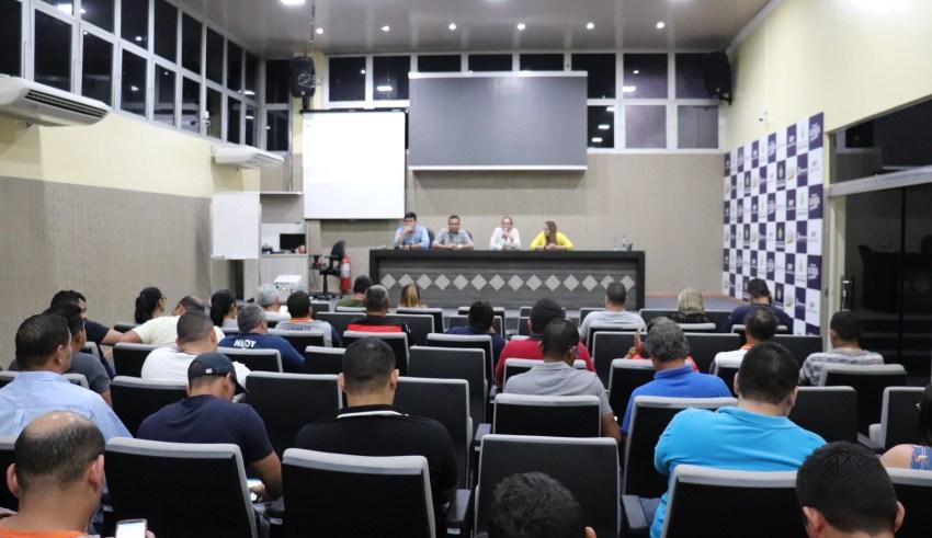 Servidores estaduais participam de curso de agente de trânsito promovido pelo Detran-AM