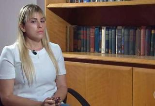 Sari Corte Real em entrevista ao Fantástico / Divulgação
